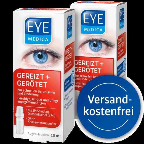 EyeMedica Gereizt + Gerötet ▷ 2er Set
